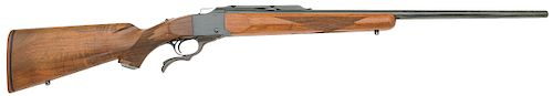 Early Ruger No.1 Medium Sporter Falling Block Rifle
