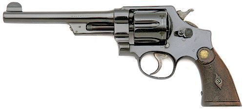 Smith and Wesson 1st Model .44 Hand Ejector Triple Lock Revolver
