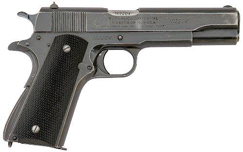 Argentine Navy Marked Sistema Model 1927 Semi Auto Pistol