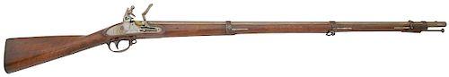 U.S. Model 1816 Flintlock Contract Musket by Wickham