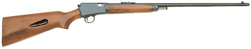 Rare Winchester Model 63 Semi-Auto Rifle with Grooved Receiver