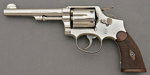 Smith and Wesson 38 Hand Ejector Model 1905 Revolver