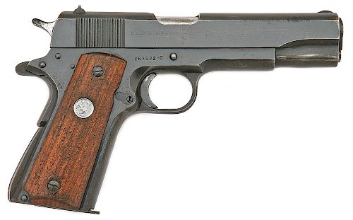Colt Model 1911A1 Government Model Semi-Auto Pistol