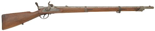 Bavarian M1858/67 Podewils Single Shot Rifle by Amberg