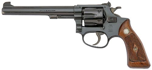 Smith and Wesson Model 35 22/32 Target Revolver