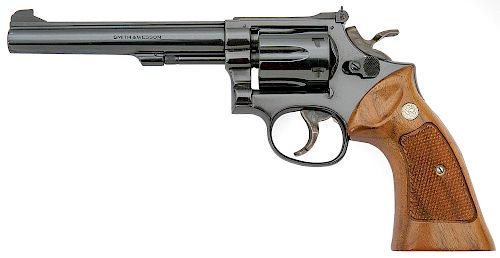Smith and Wesson Model 17-4 K-22 Masterpiece Revolver