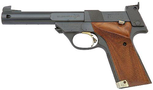 High Standard Supermatic Trophy Military Semi-Auto Pistol