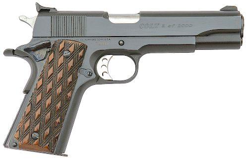 Colt Limited Edition 1 of 1000 Custom Shop Government Model Semi-Auto Pistol