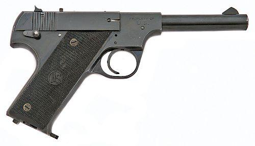 High Standard Model B U.S. Government Contract Semi-Auto Pistol