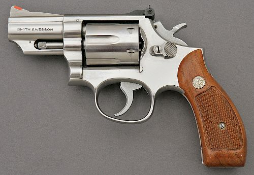 Smith and Wesson Model 66-1 Combat Magnum Revolver