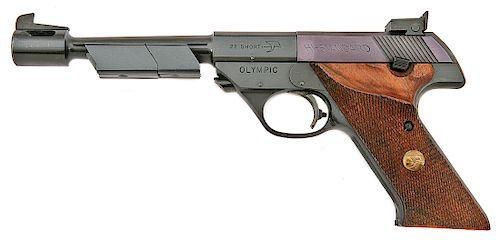 High Standard Model 104 ISU Olympic Semi-Auto Pistol