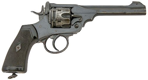 British Webley Mark VI Double Action Revolver
