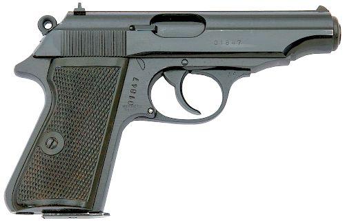 East German Pp Semi-Auto Pistol