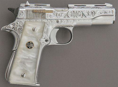 Llama Special Deluxe Semi-Auto Pistol