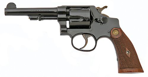 Smith and Wesson 38 Regulation Police Hand Ejector Revolver