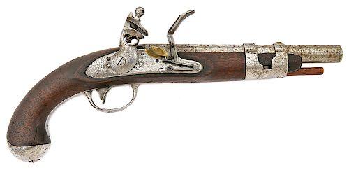 U.S. Model 1816 Flintlock Pistol by Simeon North
