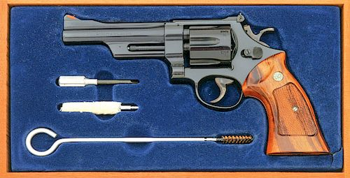 Smith and Wesson Model 35-1 22/32 Target Revolver