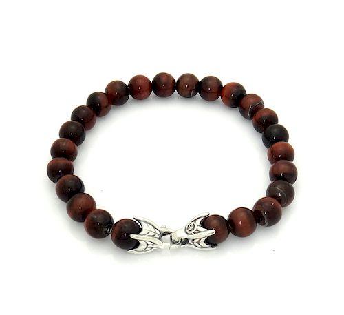 DAVID YURMAN Sterling Silver Spiritual Beads Bracelet