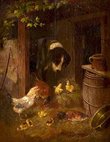 Barn Scene by Arthur Fitzwilliam Tait by Jackson Hole Art ...