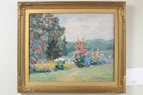 """Emma Burgess """"Flower Garden"""" O/B"""