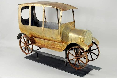 "Model ""T"" Automobile Weathervane"