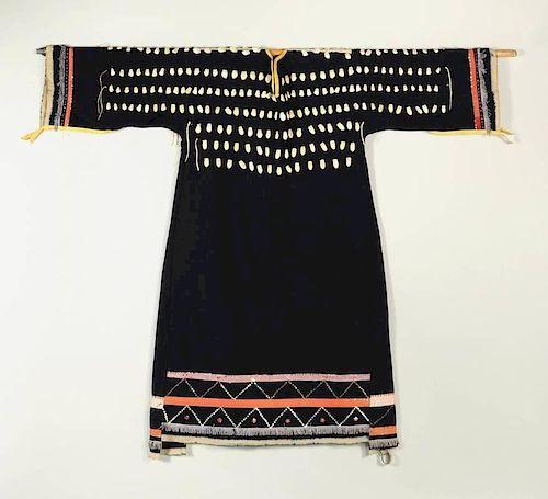 Crow Woman's Elk Tooth Wedding Dress
