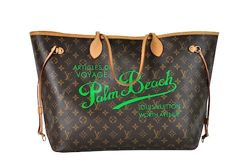 6151f466bfc0 Limited Edition Louis Vuitton  Neverfull GM  Tote by Abington ...