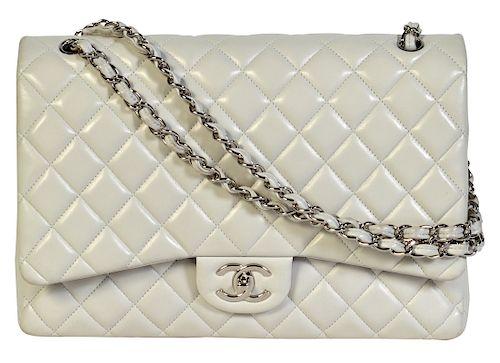 08fdaed95186 Estimate. $1,800 - $2,200. Unique CHANEL 'Gabrielle' Lambskin Menu Bag