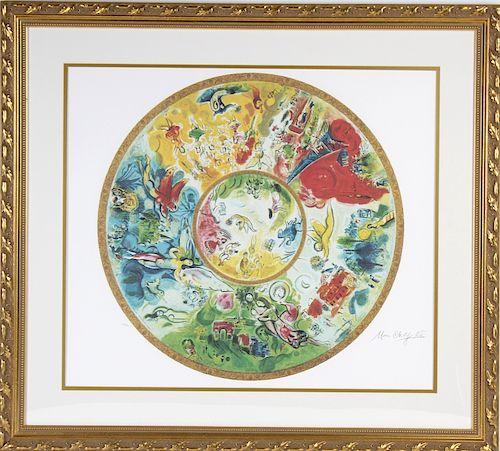 Marc Chagall Paris Opera Ceiling Le Art Lithograph Lot 95 Prev Next Item Image