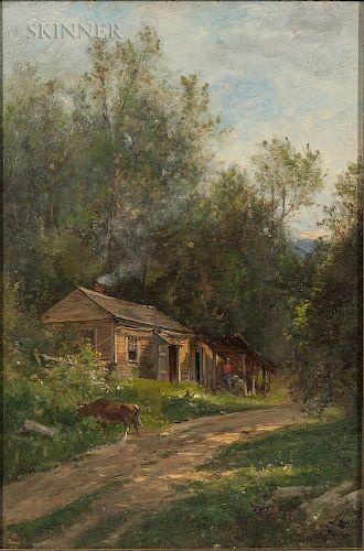 Samuel Lancaster Gerry (American, 1813-1891)  In Walpole, New Hampshire