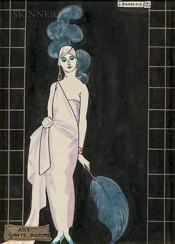 Georges Barbier (French, 1882-1932)  Art, Goût, Beauté