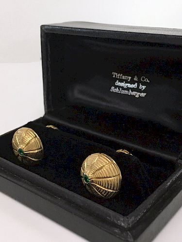 TIFFANY & CO. SCHLUMBERGER CUFF LINKS