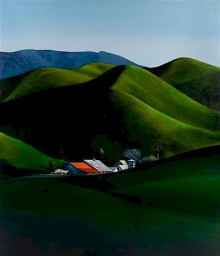 Michael Gregory, (American, b. 1955), Mint Farm, 2015