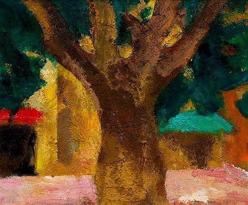 Miguel Villa Bassols, (Spanish, 1901-1988), Poblo de Segur 12, 1983