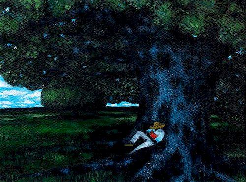 Jonathan Green, (American, b. 1955), Young Man Sleeping, 2007