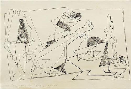 * Gino Severini, (Italian, 1883-1966), Natura Morta (Still Life), 1955