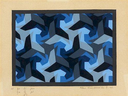 Hans Hinterreiter, (Swiss, 1902-1989), Untitled