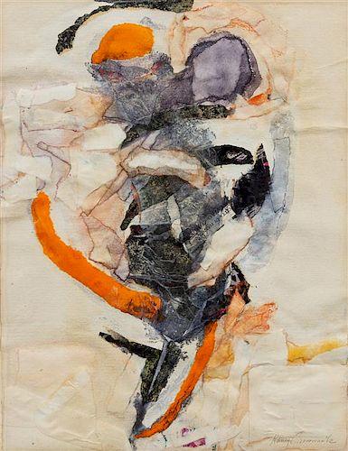 Nancy Grossman, (American, b. 1940), Untitled, 1962