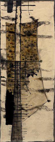 Jan Lebenstein, (Polish/French, 1930-1999), Axial Figure, 1958