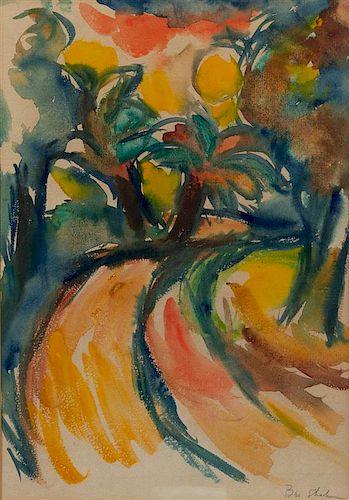 Ben Shahn, (American, 1898-1969), Untitled