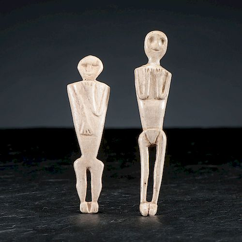 Oneida Bone Dolls, From the Collection of Jan Sorgenfrei, Ohio