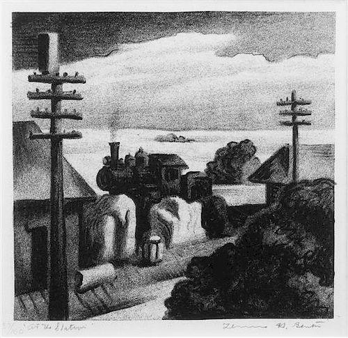 * Thomas Hart Benton, (American, 1889-1975), The Station, 1929