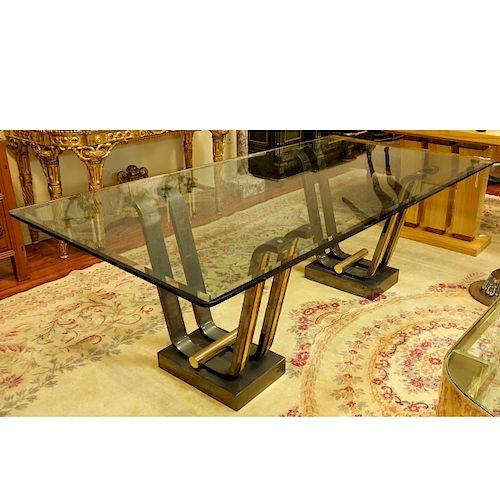 Karl Springer Tulip Dining Table Lot 14 Prev Next Item Image