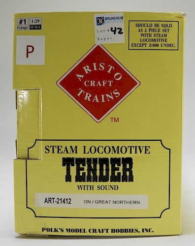 Aristo Craft Steam Locomotive Model Train Tender