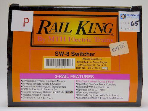 Rail King Atlantic Coast SW8 Switcher Diesel Train