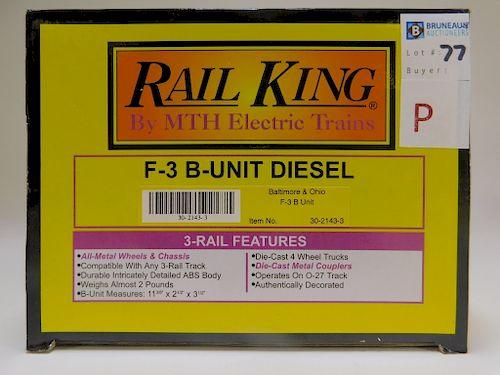 Rail King Baltimore & Ohio F-3 B-Unit Diesel Train