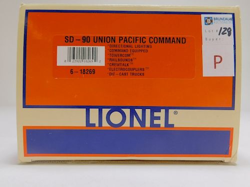 Lionel SD-90 Union Pacific Command O Gauge Train