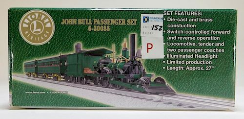 Lionel John Bull Passenger O Gauge Train Set