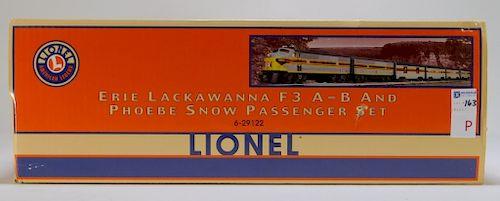 Lionel Erie Lackawanna F3 A-B & Phoebe Snow Train