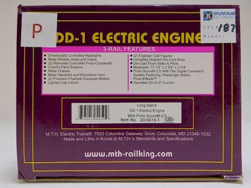 MTH Long Island DD-1 Electric Engine O Gauge Train